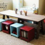 Double Trestle Kids Activity Table