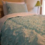Gathered Quilt and Sham