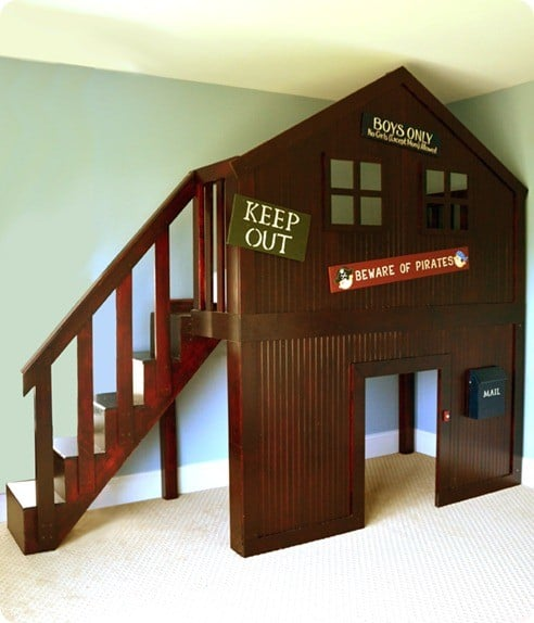 Tree House Fort Bed Knockoffdecor Com
