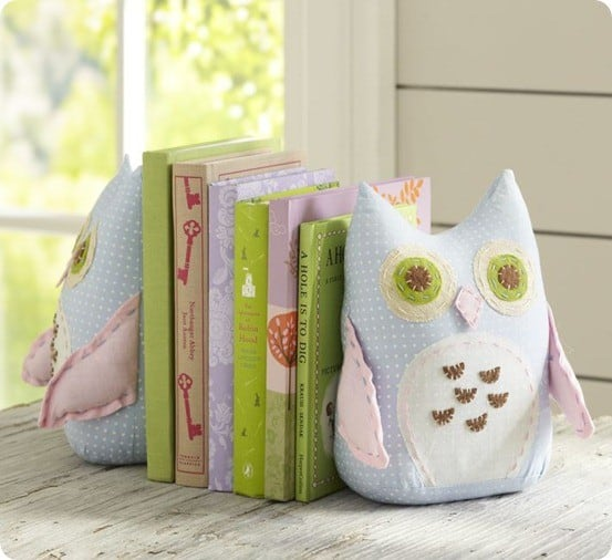 pb owl bookends