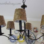 Rope Chandelier Shades