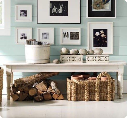 pottery barn norfolk bench