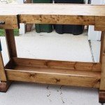 Workbench Bar Console