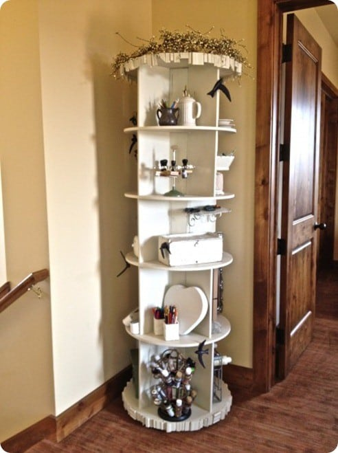 Spinning Storage Shelf