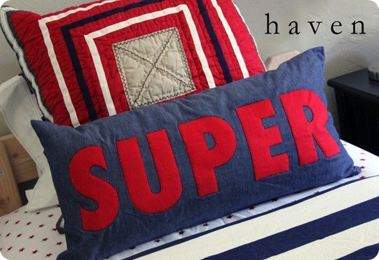 super hero pillow 1