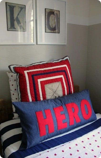 Super Hero Lumbar Pillows