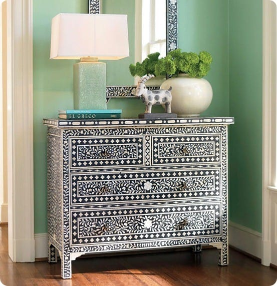 wisteria moorish chest