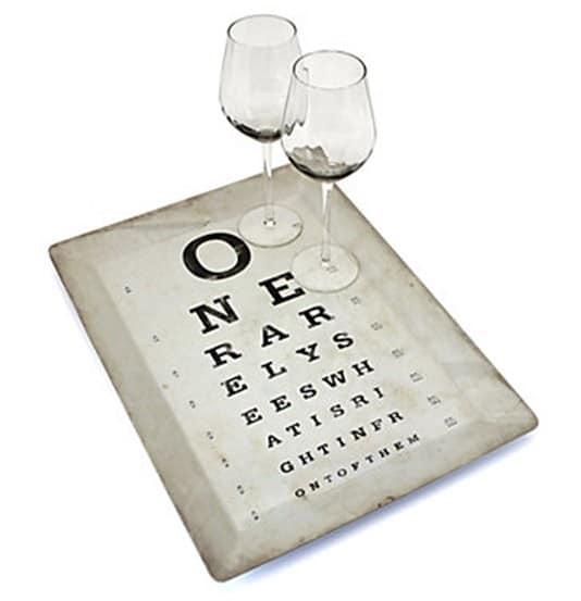 Eye Chart Tray