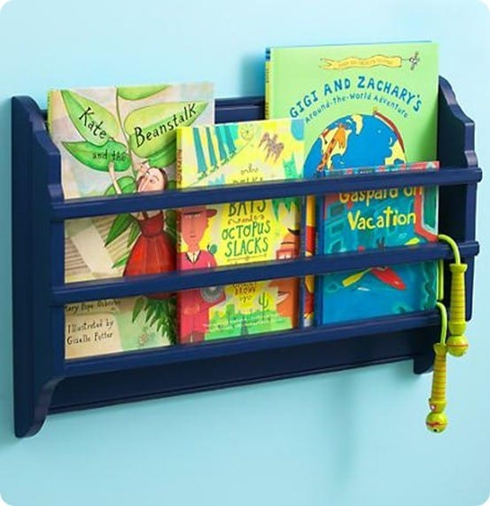 Wall Book Rack