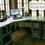 Rustic-Office-Desk-Pottery-Barn-Style-on-HoosierHomemade.com_1