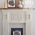 Scrap Trim Mantel