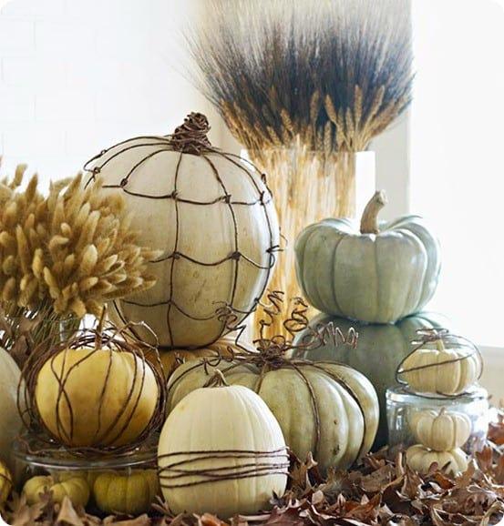 better homes and gardens grapevine pumpkins