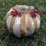 Dictionary Page Pumpkin