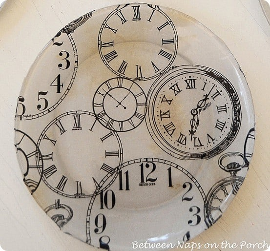 diy clock face plates