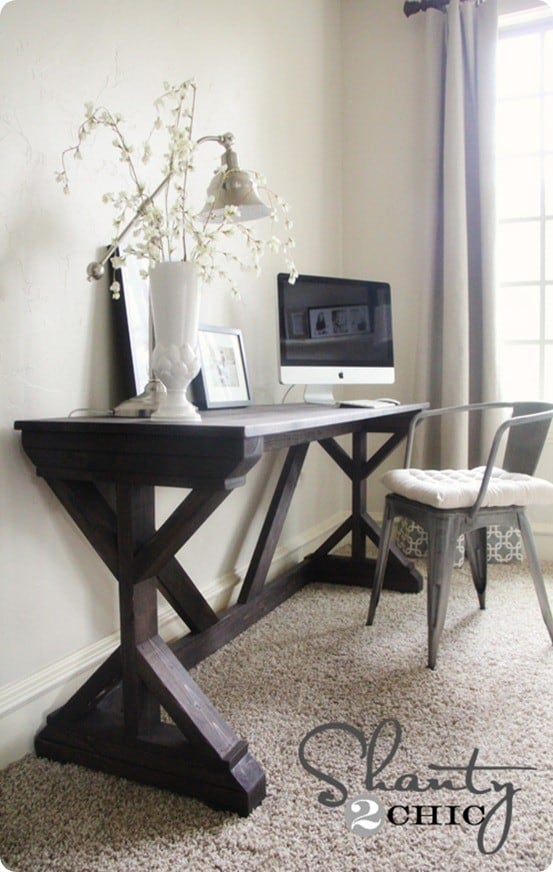 Modern Farmhouse Desk Knockoffdecor Com