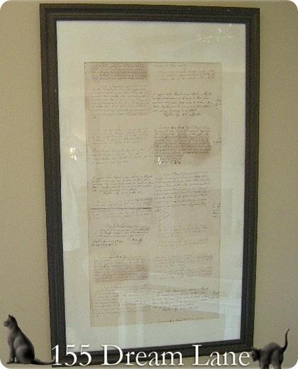 framed script like ws 3.00