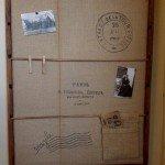 knockoff pb rustic wall organizer