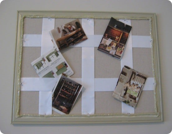 pb inspired corkboard