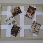 Fabric and Ribbon Corkboards