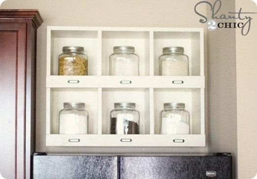 pb inspired cubby shelf