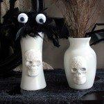 pb inspired skull vases