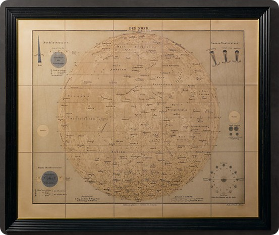 rh antique map