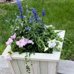 Outdoor Wood Planter – from Paint Sticks!