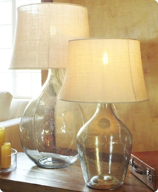 Amazing Clift Glass Table Lamp Base