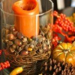Pottery Barn Inspired Fall Vase Filler