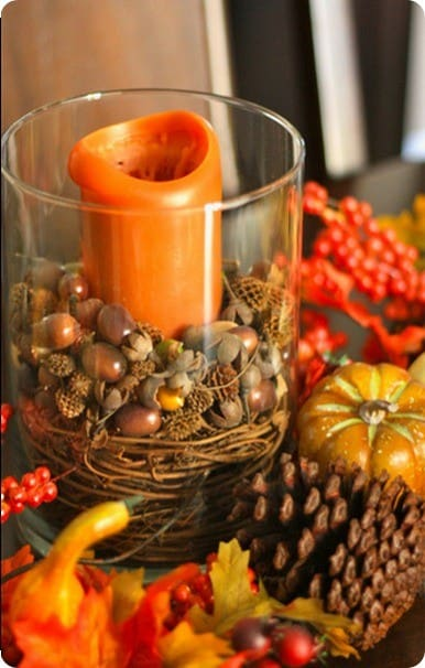 Pottery Barn Inspired Fall Vase Filler Knockoffdecor Com