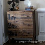anthro inspired numbered dresser
