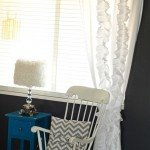 anthro inspired pleated curtain
