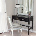 Painted Vanity Desk