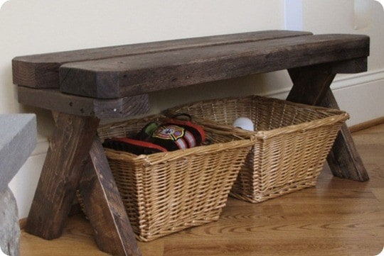 Reclaimed Wood Bench Knockoffdecor Com