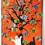 Canvas Halloween Countdown Calendar