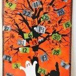 Canvas Halloween Countdown Calendar