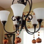 Magnetic Pumpkin Chandelier Ornaments