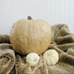 Brown Paper Pumpkin