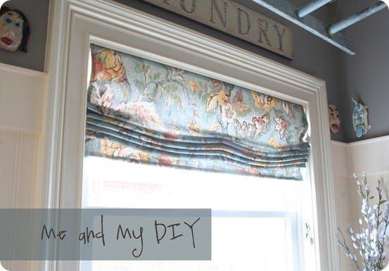 Sewing Tutorials | How to make your own roman shade from a drape {Pottery Barn knock off}