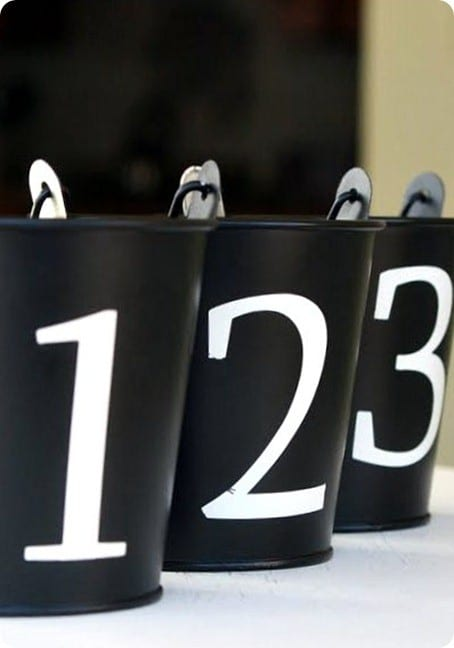 pb knock off numbered pails
