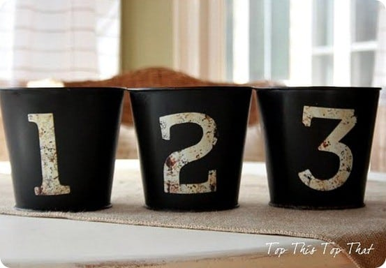 pb numbered pails