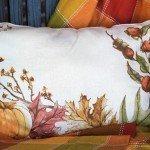 Make Seasonal Pillows from Placemats!