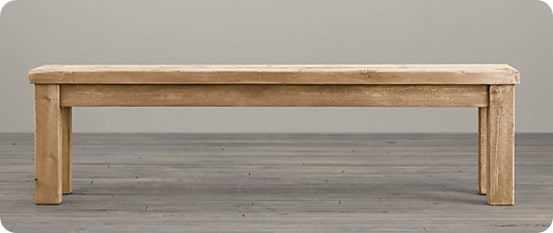 rh small salvage bench