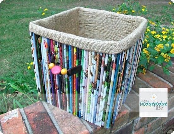 rolled magazine box