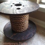 Rope Spool Table