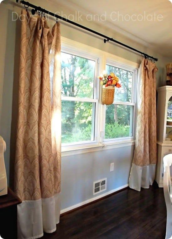 shower curtain window panels