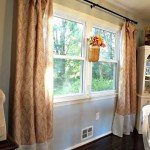 shower curtain window panels