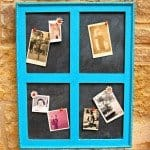 Window Frame Corkboard