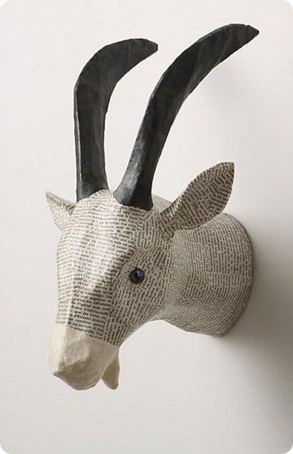 Savannah Story Gazelle Bust