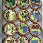 Metal Circles Mirror